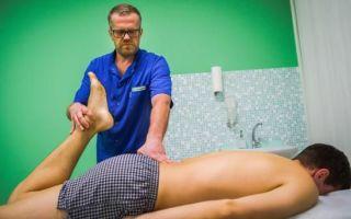 Боль в копчике у мужчин: причины, лечение, меры профилактики