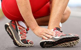 Бурсит ахиллова сухожилия: симптомы и лечение