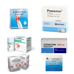 Препараты с хондроитином и глюкозамином: эффективность хондроксида