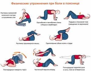 Упражнения для пояснично-крестцового отдела позвоночника при остеохондрозе