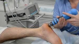 Ударно волновая терапия для лечения суставов, применение и результаты