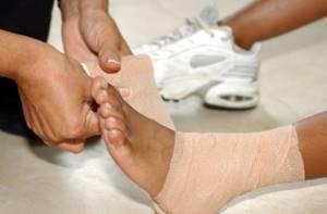 Лечение поврежденных связок голеностопного сустава: лекарства и хирургия
