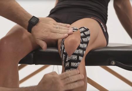 Тейпирование коленного сустава: виды, преимущества, показания и противопоказания
