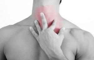 Ком в горле при остеохондрозе шейного отдела: симптомы, лечение