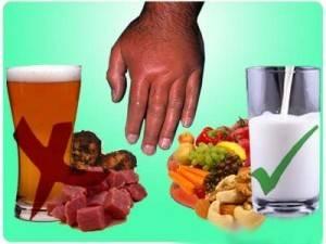 Лечение подагры при обострении: народные средства, диета