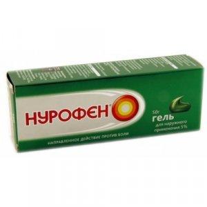 Нурофен гель - состав, показания к применению и лечебное действие