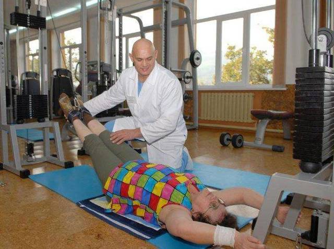 Упражнения при шейном остеохондрозе по методике Гитта