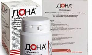 Препарат Дона для суставов: порошок, уколы, таблетки