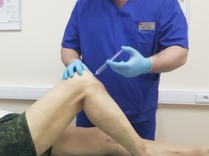 Блокада коленного сустава дипроспаном и другими медикаментами при артрозе