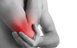 Воспаление локтевого сустава: виды, причины, лечение