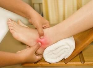Боль и отек в голеностопном суставе: причины и лечение