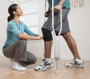 Правила реабилитации после эндопротезирования коленного сустава