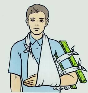 Сколько должна находиться спица в плечевом суставе после операции?