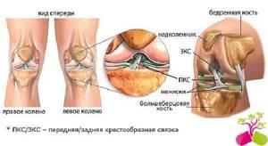Болит колено при сгибании и разгибании: лечение, признаки