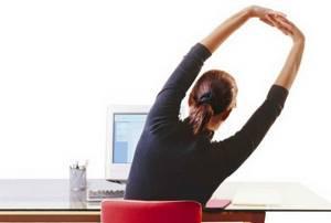 Упражнения при грудном остеохондрозе: комплекс для домашнего выполнения