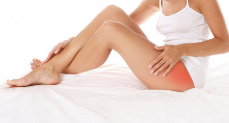 Защемление нерва в тазобедренном суставе: лечение ущемления, симптомы